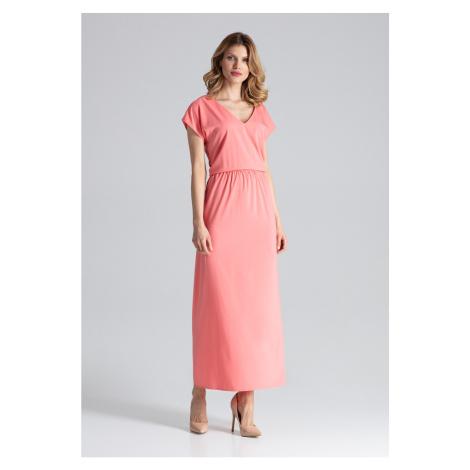 Sukienka kobiety Figl M668 Coral