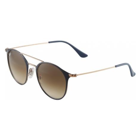 Ray-Ban Okulary przeciwsłoneczne niebieska noc / brązowy