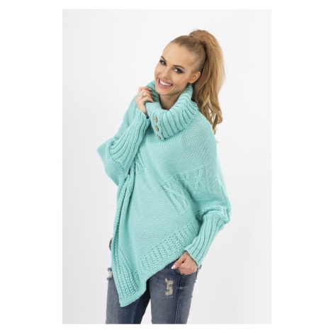 Makadamia Woman's Sweater MAKs09 Mint