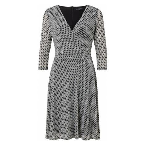 Esprit Collection Sukienka czarny / biały