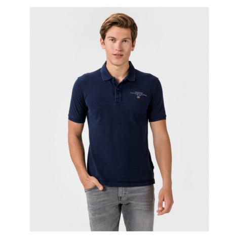 Napapijri Elbas 3 Polo Koszulka Niebieski