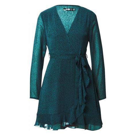 Missguided Sukienka niebieski / benzyna