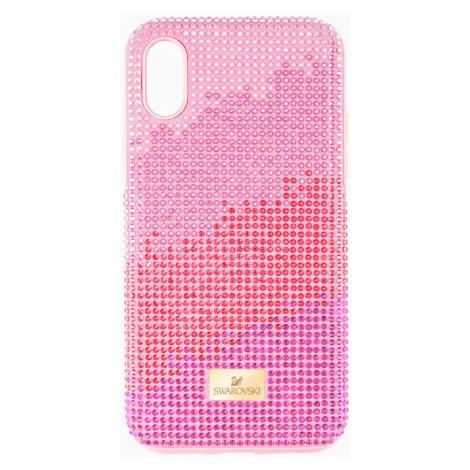Etui na smartfona High Love z ramką chroniącą przed uderzeniem, iPhone® XS Max, różowe Swarovski