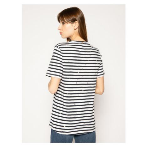 Silvian Heach T-Shirt Dines PGP20655TS Kolorowy Regular Fit