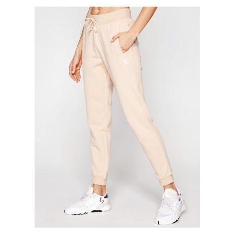Adidas Spodnie dresowe Track GT6831 Beżowy Slim Fit