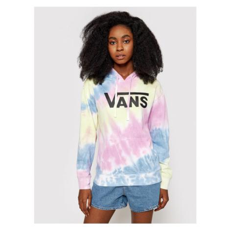 Vans Bluza Spiraling Hoodie VN0A5ASM Kolorowy Regular Fit