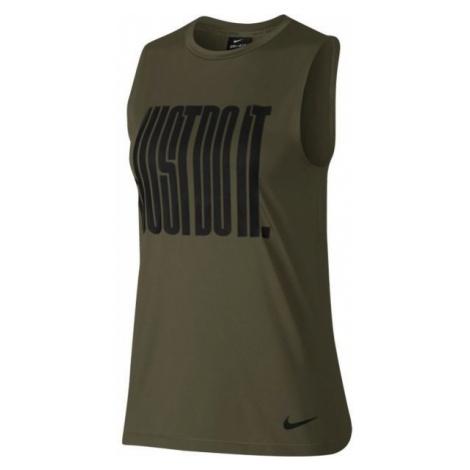 Nike TANK JDI MUSCLE - Koszulka sportowa damska