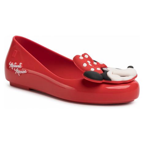 Baleriny MELISSA - Mel Sweet Love + Minnie Inf 32807 Red 01371