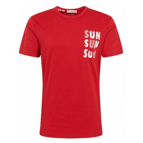 SELECTED HOMME Koszulka 'JOEL' czerwony