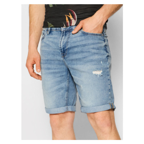 Only & Sons Szorty jeansowe Ply 22019567 Granatowy Regular Fit