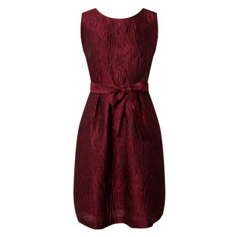 APART Sukienka koktajlowa bordowy