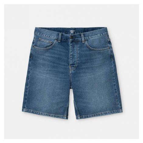 Spodenki męskie Carhartt WIP Newel Short Cotton I027951 BLUE WORN
