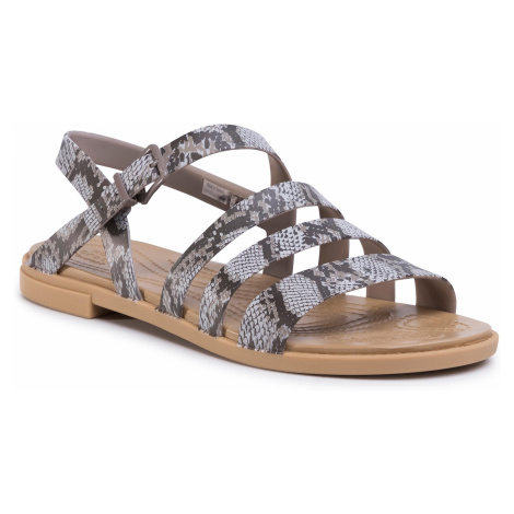 Sandały CROCS - Tulum Sandal W 206107 Mushroom/Stucco
