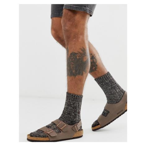 Birkenstock cotton twist socks in brown