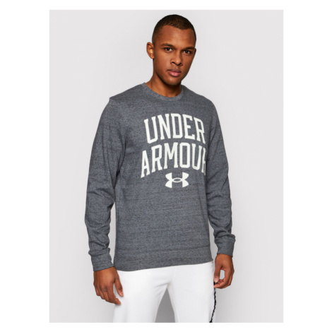 Under Armour Bluza Rival Terry Crew 1361561 Szary Loose Fit