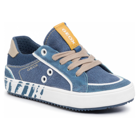 Sneakersy GEOX - J Alonisso B. E J022CE 0NB22 C4289 M Avio/Beige