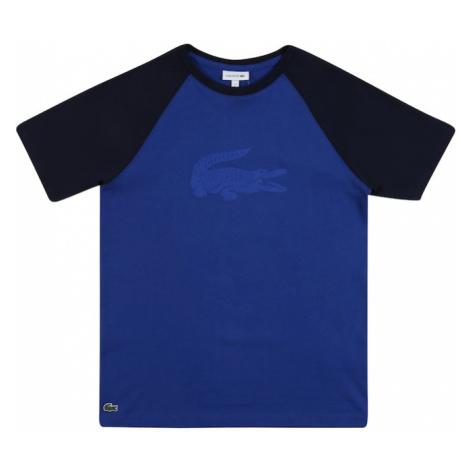 LACOSTE Koszulka niebieski / czarny