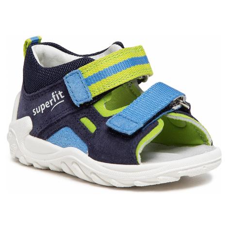 Sandały SUPERFIT - 1-000031-8000 M Blau