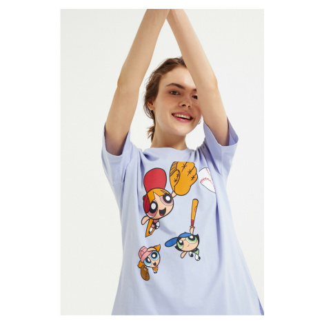 Koton Damska liliowa koszulka