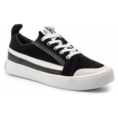 Sneakersy CALVIN KLEIN JEANS - Dino S0613 Black/White/Black