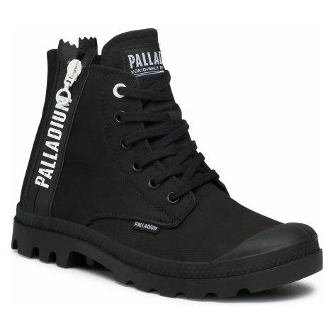 Trapery PALLADIUM - Pampa 2 Back Zip Cvs 97084-008-M Black/Black