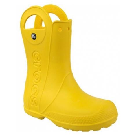 Crocs Handle It Rain Boot Kids 12803-730 Żółte