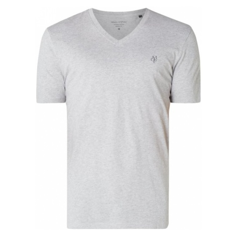 T-shirt o kroju shaped fit z organicznej bawełny Marc O'Polo