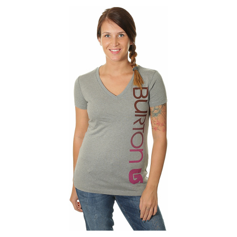 koszulka Burton Antidote V Neck - Gray Heather