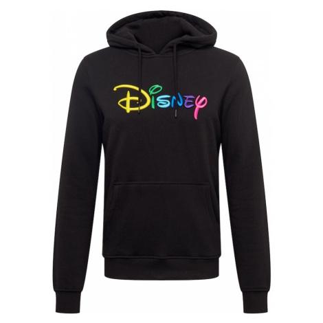 Mister Tee Bluzka sportowa 'Disney Rainbow Logo EMB' mieszane kolory / czarny