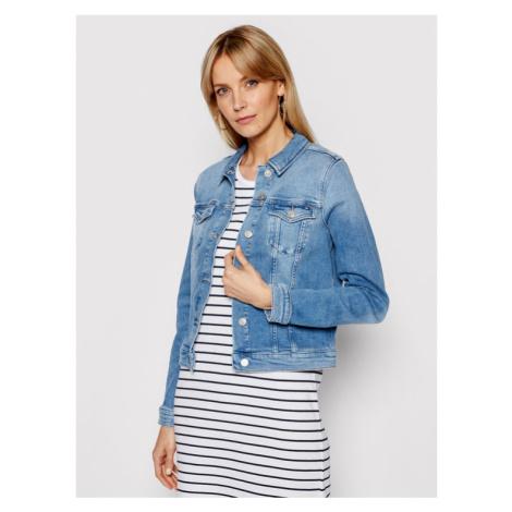 Tommy Hilfiger Kurtka jeansowa WW0WW30162 Niebieski Slim Fit