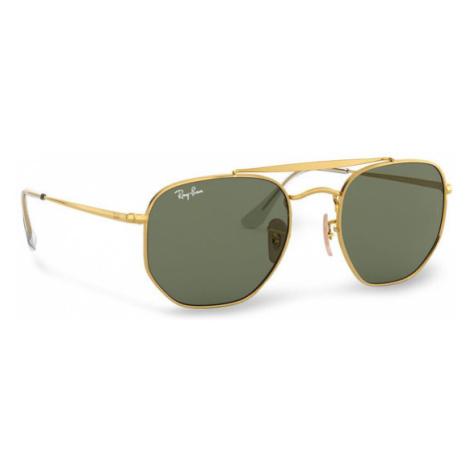 Ray-Ban Okulary przeciwsłoneczne Marshal 0RB3648 001 Złoty