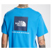 The North Face Red Box Tee Clear Lake Blue