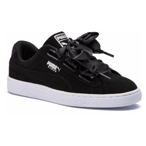 Sneakersy PUMA - Suede Heart Galaxy 369232 03 Puma Black/Puma Silver