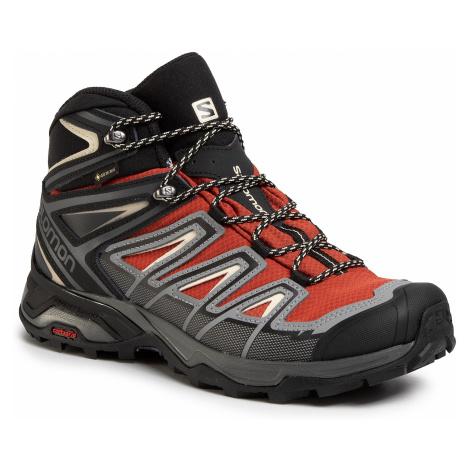 Trekkingi SALOMON - X Ultra 3 Mid Gtx GORE-TEX 409905 27 W0 Burnt Brick/Black/Bleached Sand