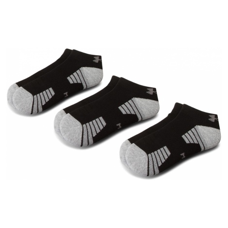 Zestaw 3 par niskich skarpet męskich UNDER ARMOUR - Heatgear Tech Locut Socks 3Pk 1312430-001 Cz