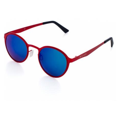 Okulary Przeciwsłoneczne Unisex | Czerwony Radiatus Rubra Woox