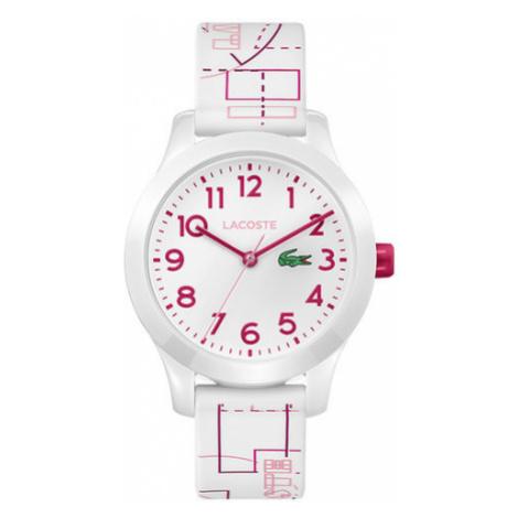 Lacoste Zegarek L1212 2030009 Biały