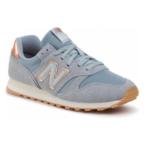 New Balance Sneakersy WL373CB2 Niebieski