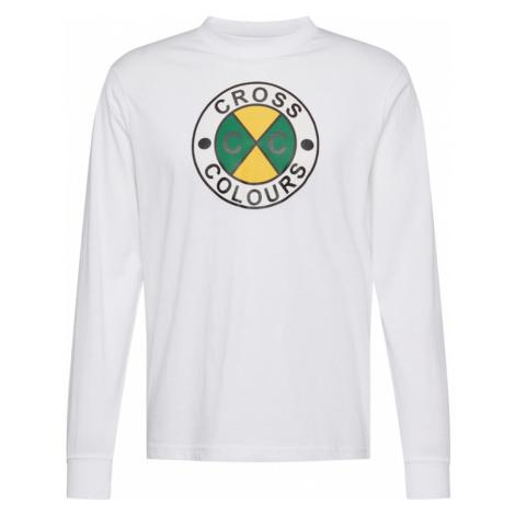 CROSS COLOURS Koszulka biały