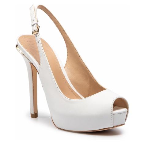 Sandały GUESS - Hartlie FL6HRL LEA07 WHITE