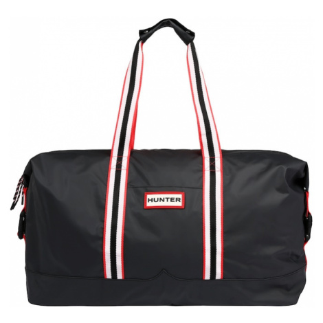 HUNTER Torba podróżna 'ORIGINAL LIGHTWEIGHT RUBBERISED HOLDALL' czarny