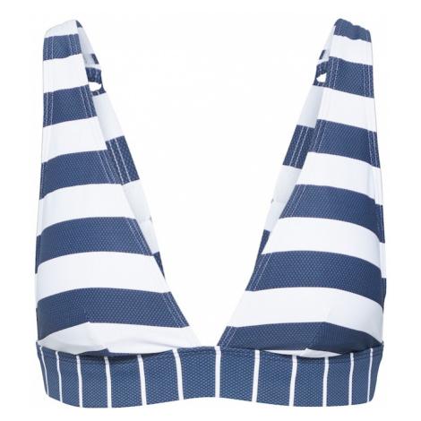 ESPRIT Góra bikini 'NORTH BEACH' biały / ciemny niebieski