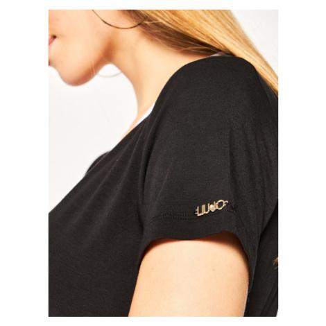 Liu Jo Sport Sukienka codzienna TA0201 J6998 Czarny Loose Fit