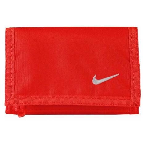 Nike BASIC WALLET czerwony  - Portfel