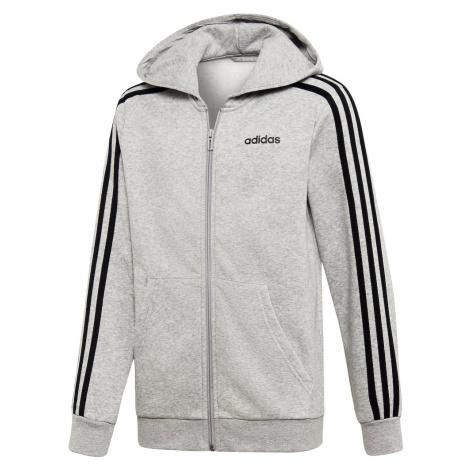ADIDAS PERFORMANCE Sportowa bluza rozpinana czarny / szary