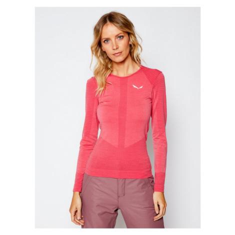 Salewa Koszulka techniczna Zebru Responsive 27958 Różowy Slim Fit