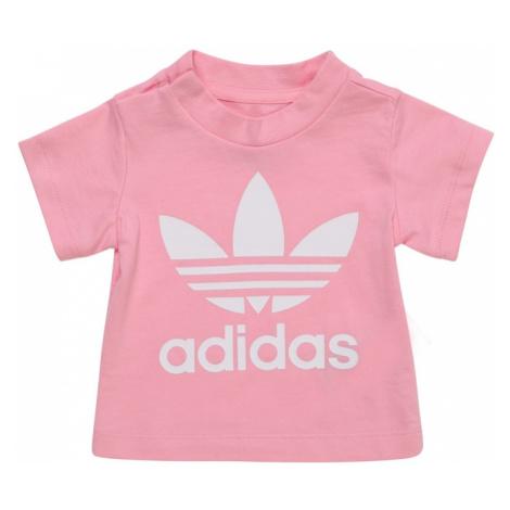 ADIDAS ORIGINALS Koszulka różowy pudrowy / biały