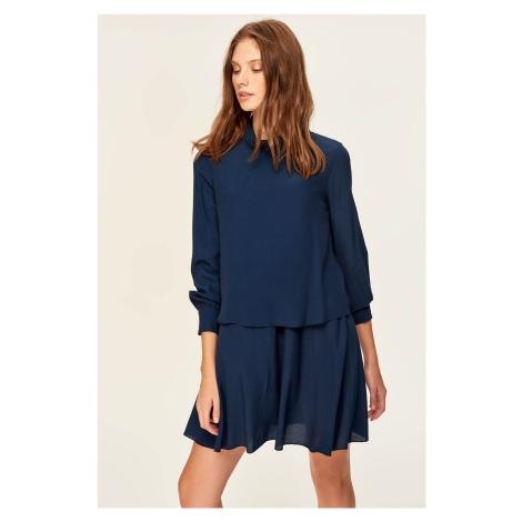 Trendyol Navy Blue Skirt, Hand-Wheel Dress