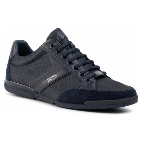 Sneakersy BOSS - Saturn 50407672 10216105 01 Dark Blue 401 Hugo Boss