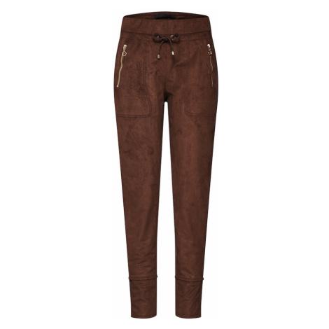 MAC Spodnie 'EASY active' brązowy